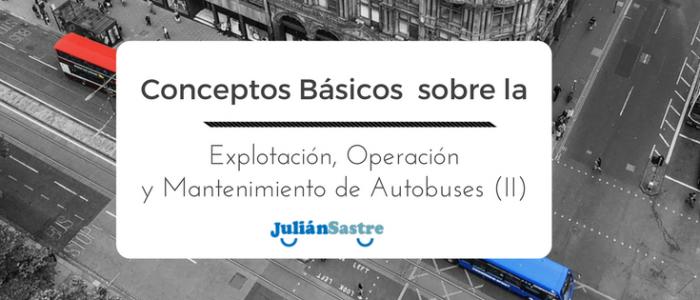 Operación y Mantenimiento de Autobuses