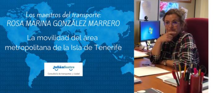la movilidad de la Isla de Tenerife