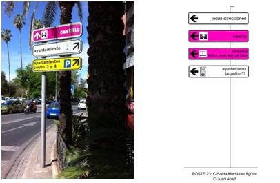 proyecto de señalización urbana