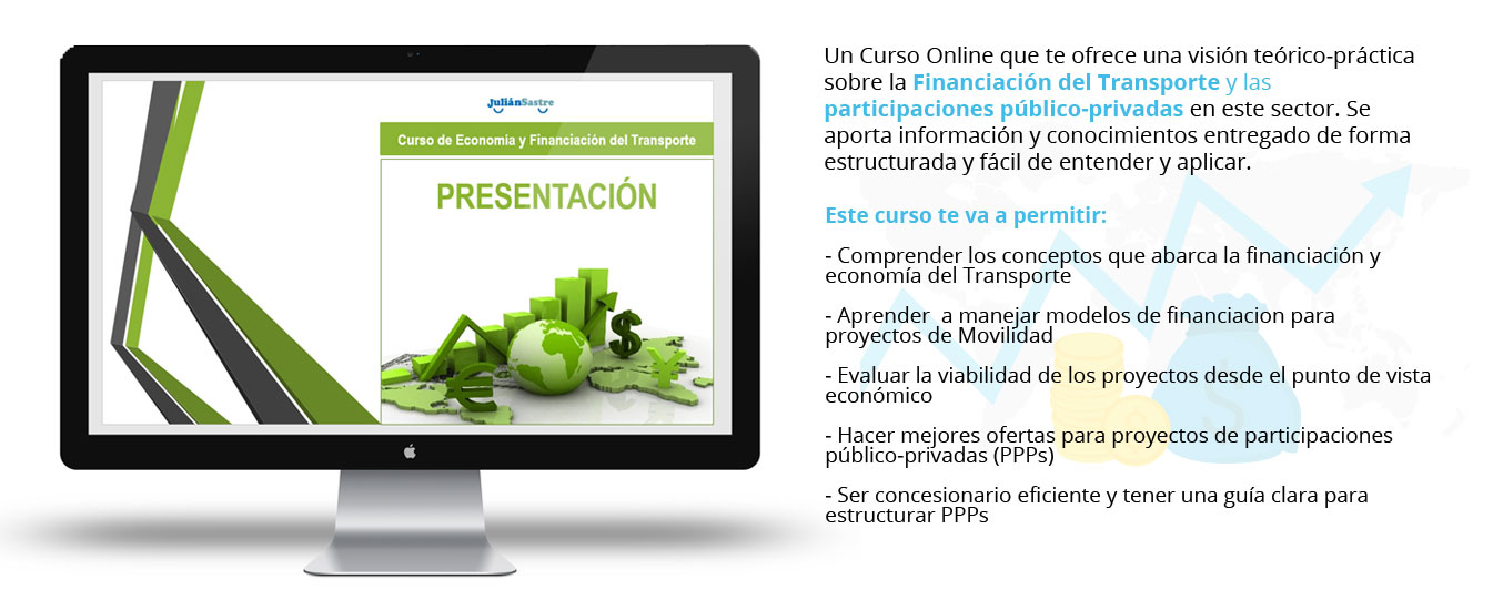 curso economia y financiacion del transporte