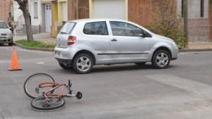 intersección con vía para ciclistas 1