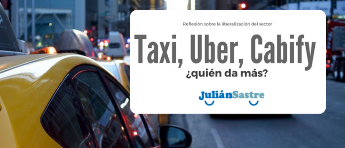 taxi uber cabify