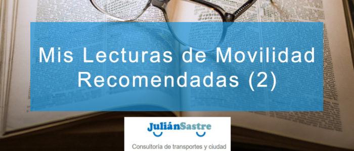 Mis Lecturas de Movilidad Recomendadas (2)